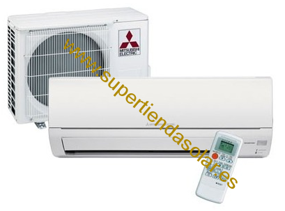 SPLIT CALOR Y FRIO  Mitsubishi Electric MSZ-DM35VA PARA 35M²