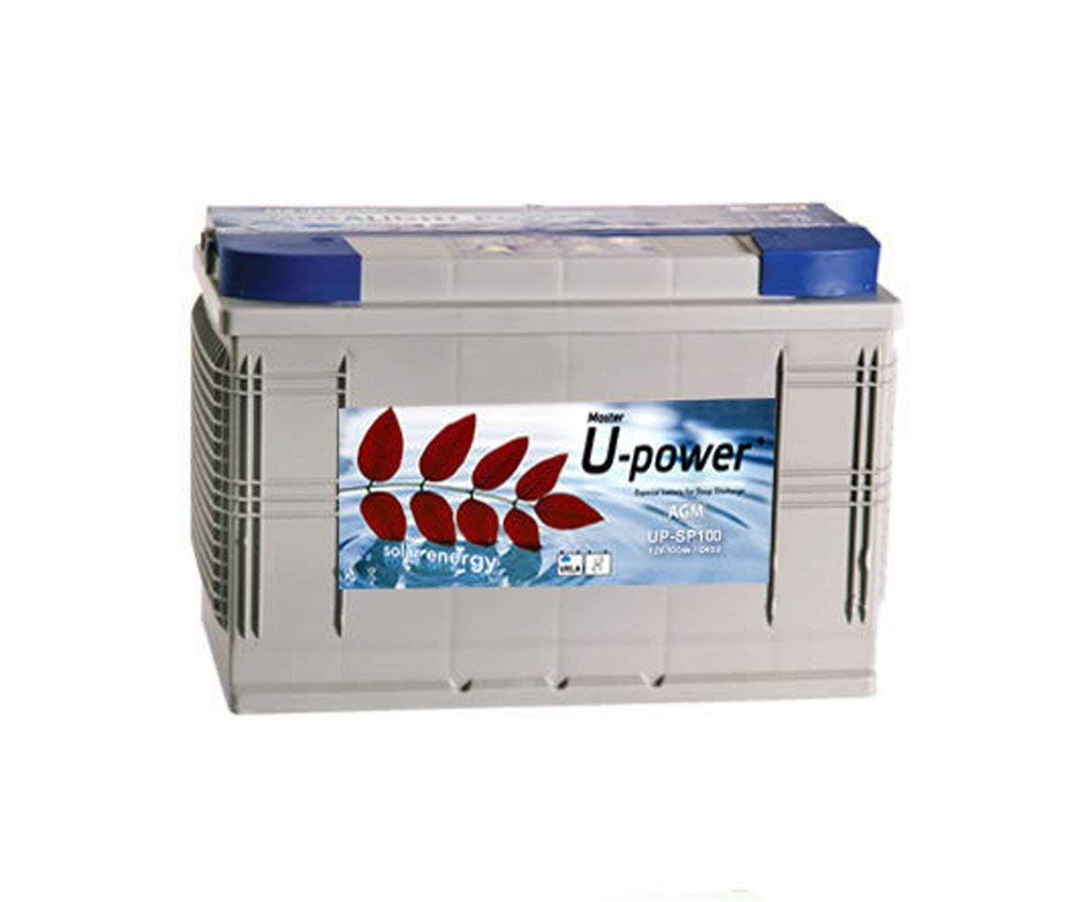 BATERIA AGM U-POWER 100AH 12V