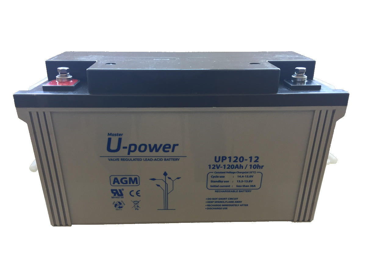 BATERIA AGM U-POWER 120AH 12V